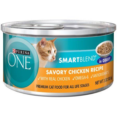Pets Canned Cat Food Classic Chicken Recipe Savory Chicken Recipe