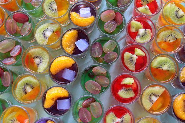 French 75 Jelly Shots Jello Shot Recipes Shot Recipes Jello Shots