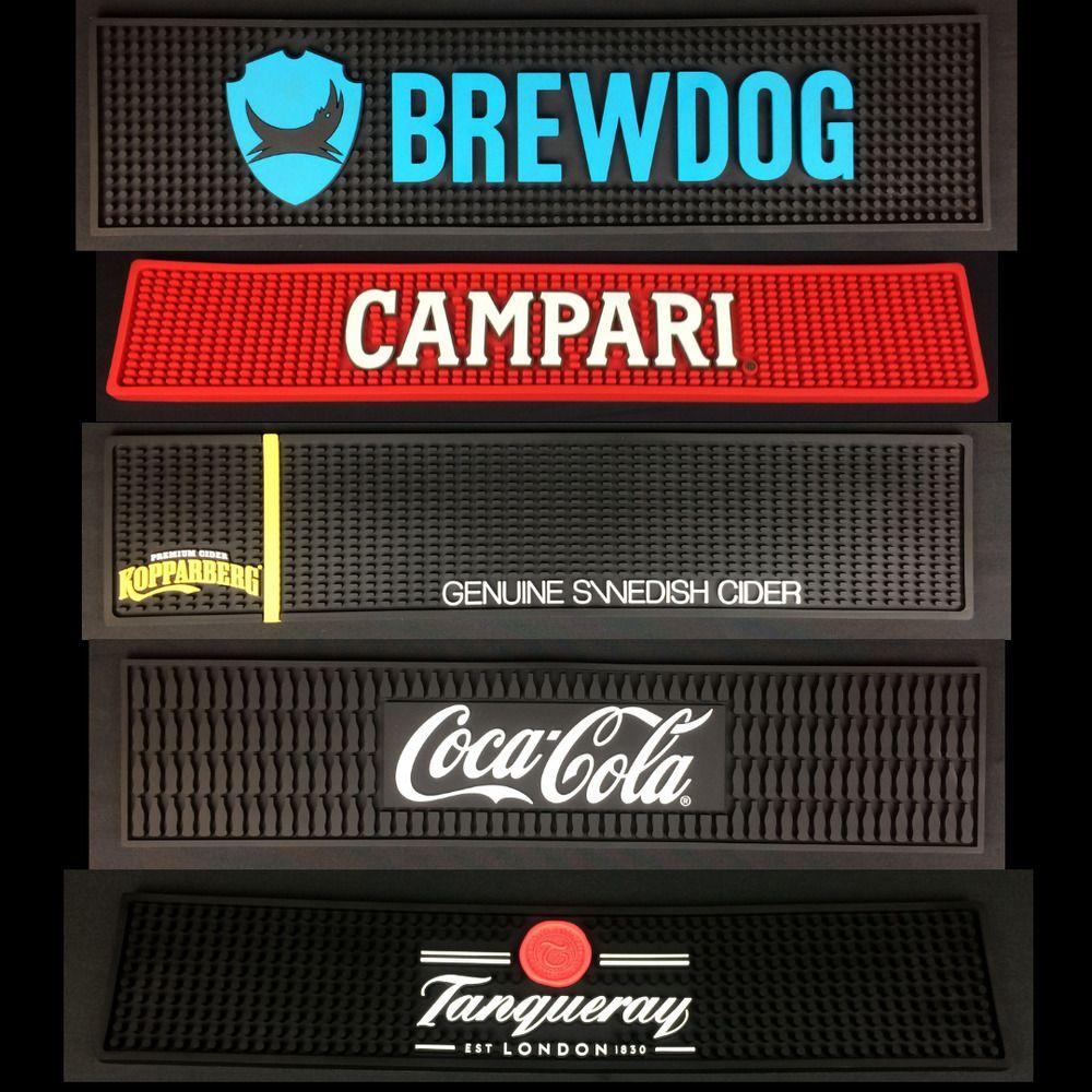 Rubber Drip Mat Bar Runner Brewdog Kopparberg Masons