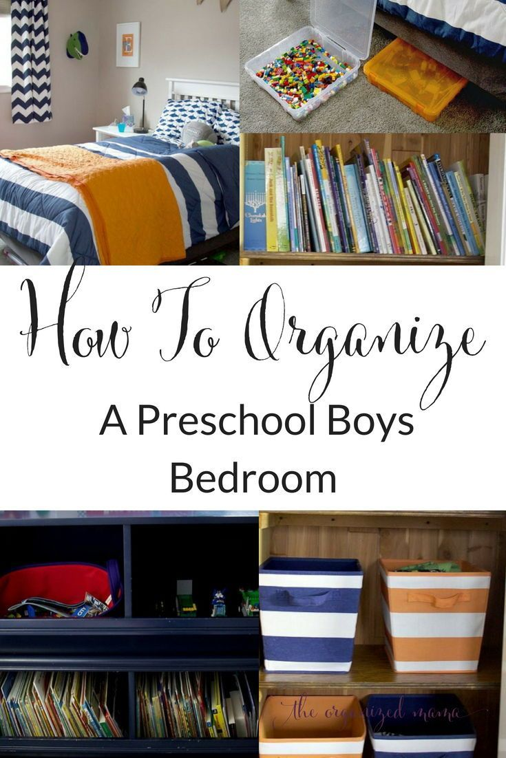 DIY: Organizing A Preschool Boy Bedroom images