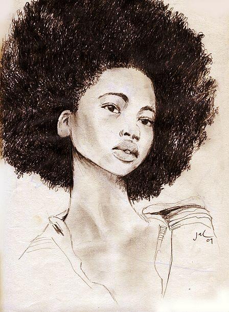 wig in a box by Jacklyn Laryea