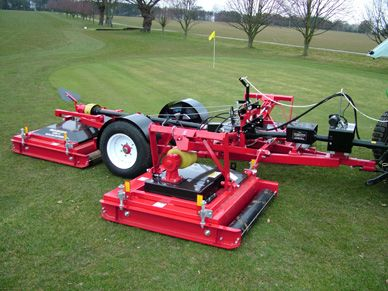 Progressive's new Tri-Deck Roller mower (TDR-12) is the
