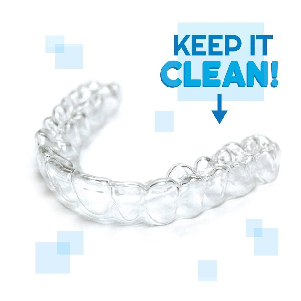 DON'T FORGET to clean your retainer! You should clean your ...