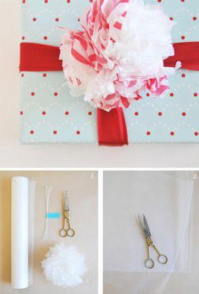 Método fácil para hacer pompones decorativos