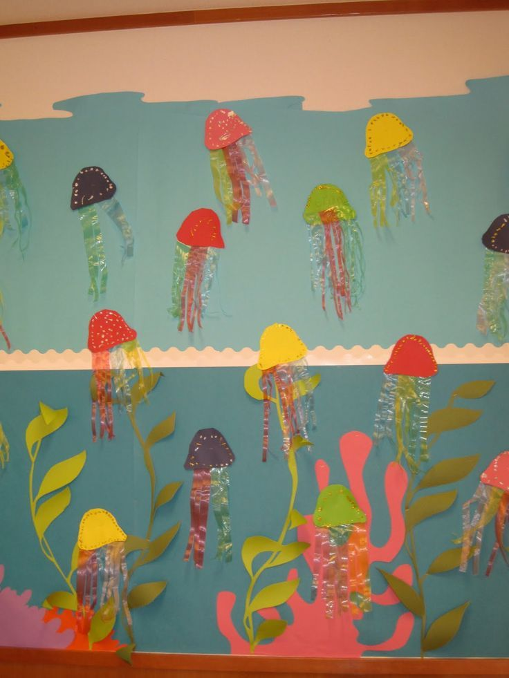 Mi Mundo Infantil Manualidades De Verano Fondo Del Mar