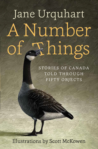 A Number of Things by Jane Urquhart. Read more on thesavvyreader.com!