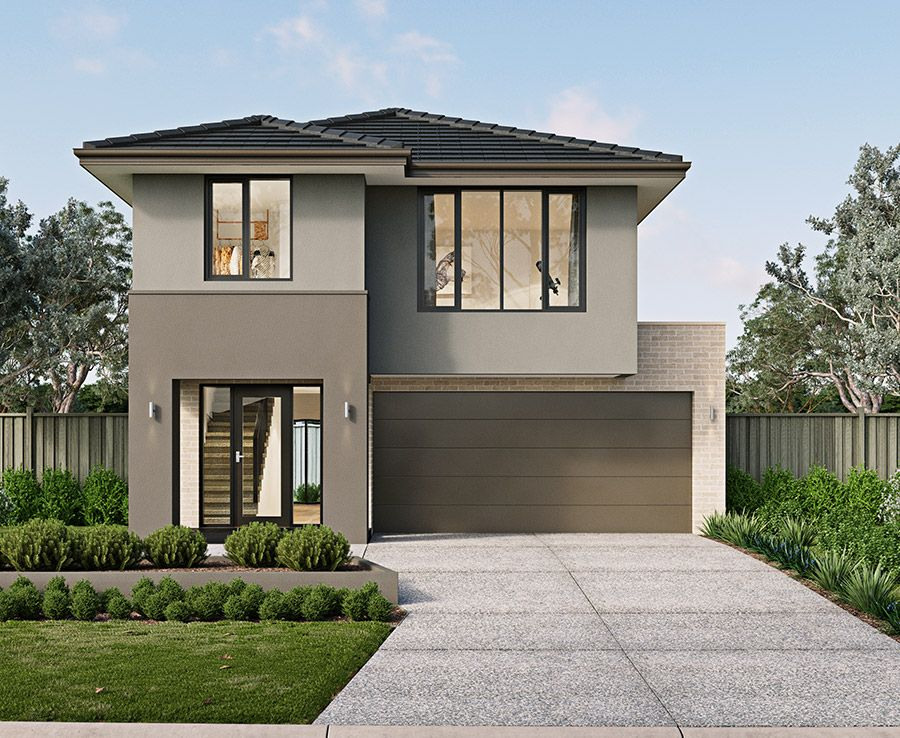 The Kalarney Corner Block House Designs With Metricon Modern House Design House Design Storey Homes