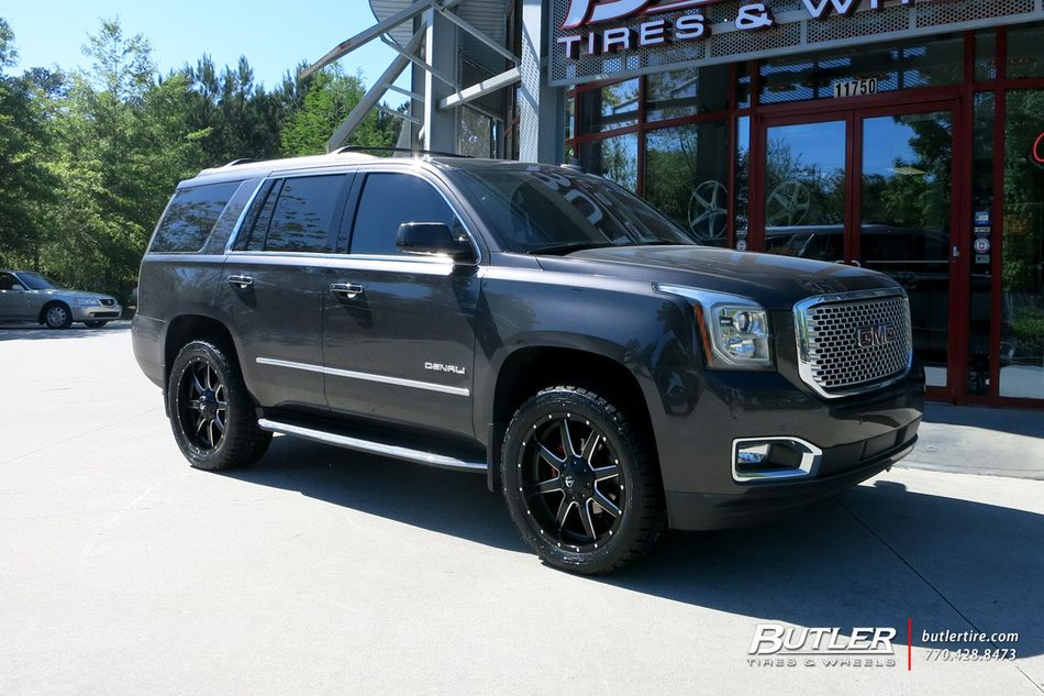 Gmc Yukon With 22in Fuel Maverick Wheels By Butler Tires And