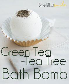 Green Tea-Tea Tree Oil Bath Bomb