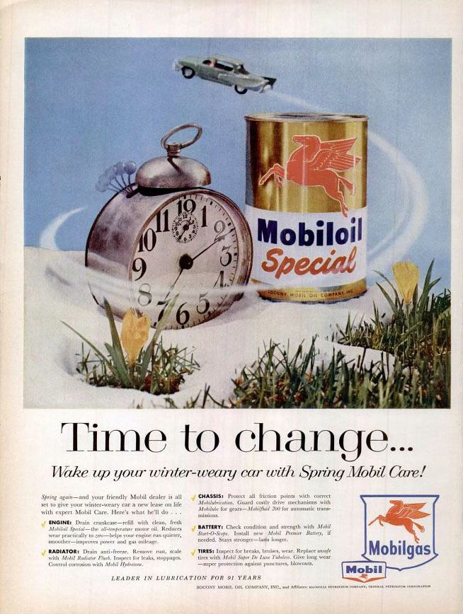 Vintage 1940 Magazine Ad Mobiloil Special Use For The Best Engine Protection Advertising Collectibles