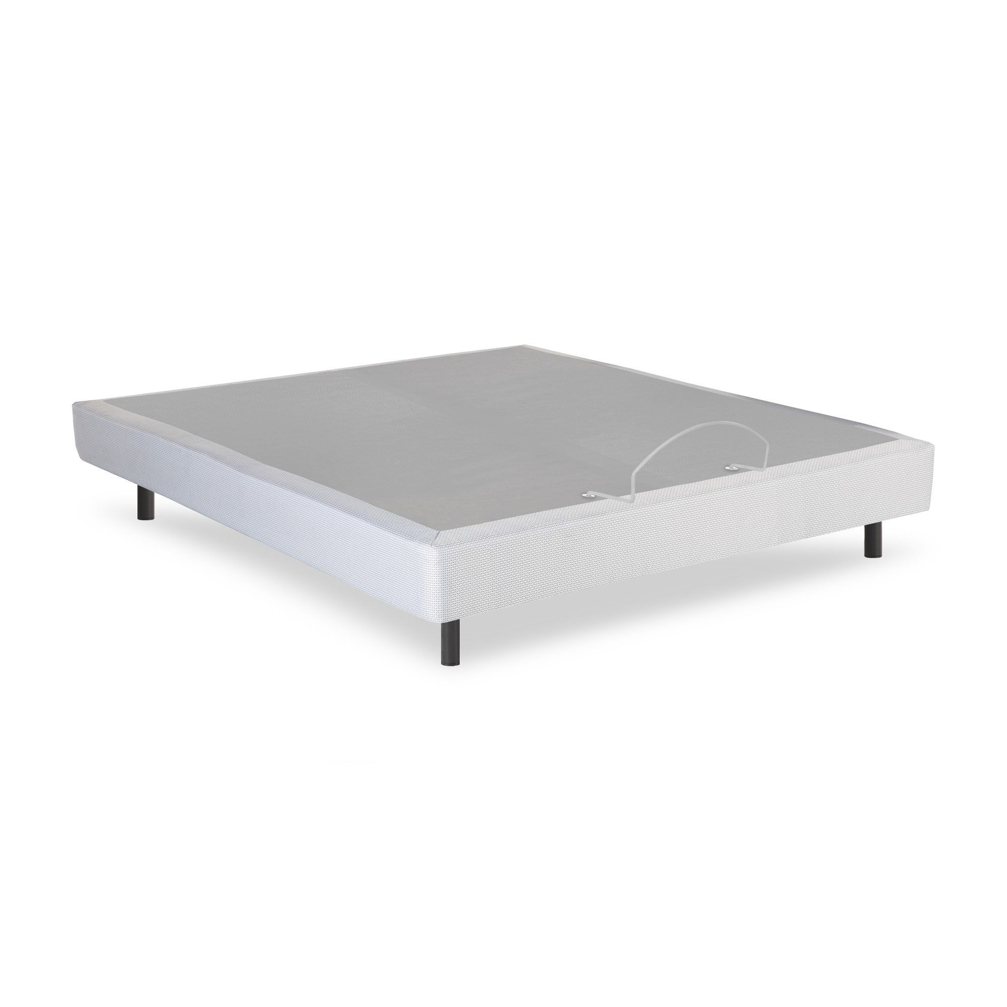 Fashion Bed Group Pro-Motion Grey Finish Adjustable Bed Base with ...