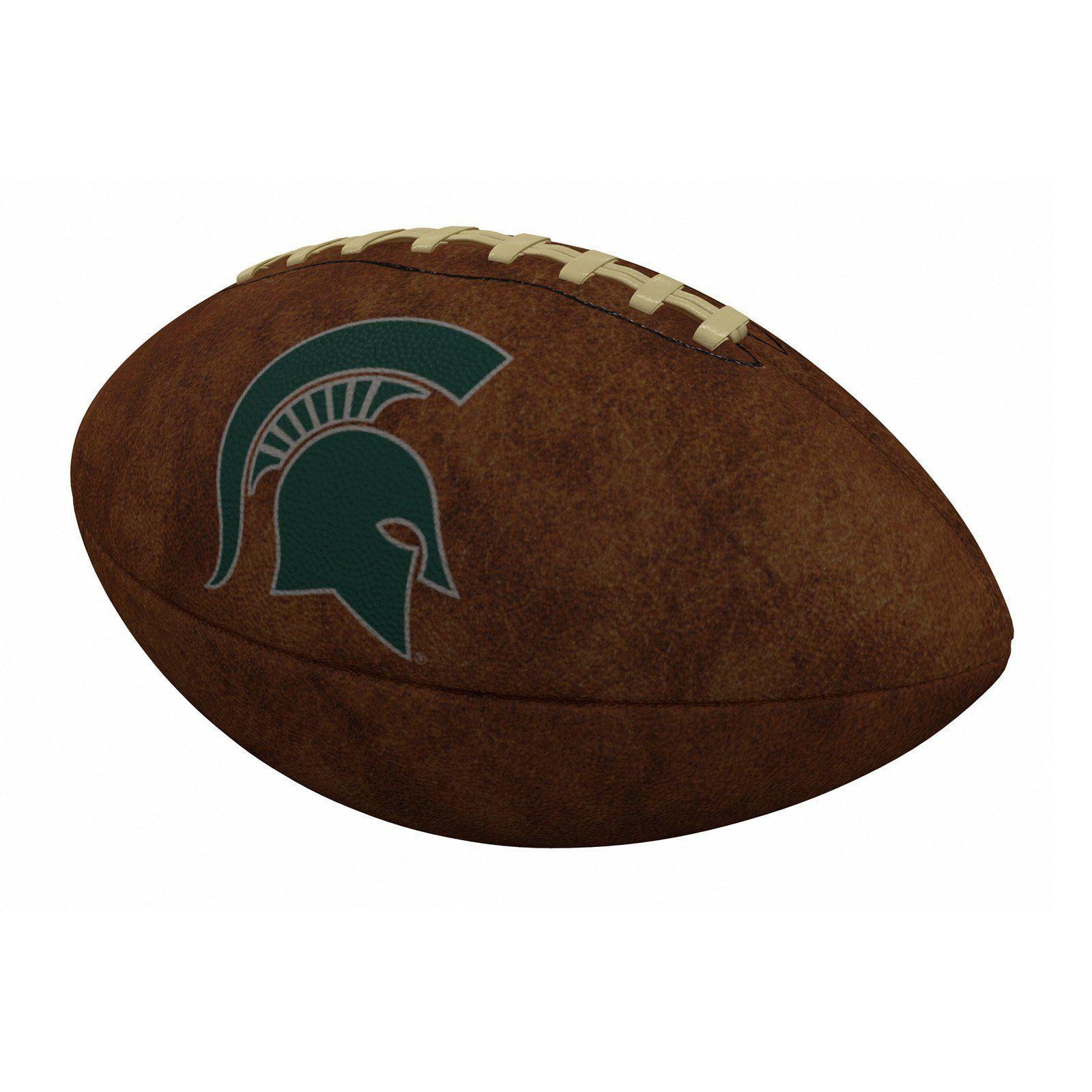 Logo Brands NCAA Team OfficialSize Vintage Football in