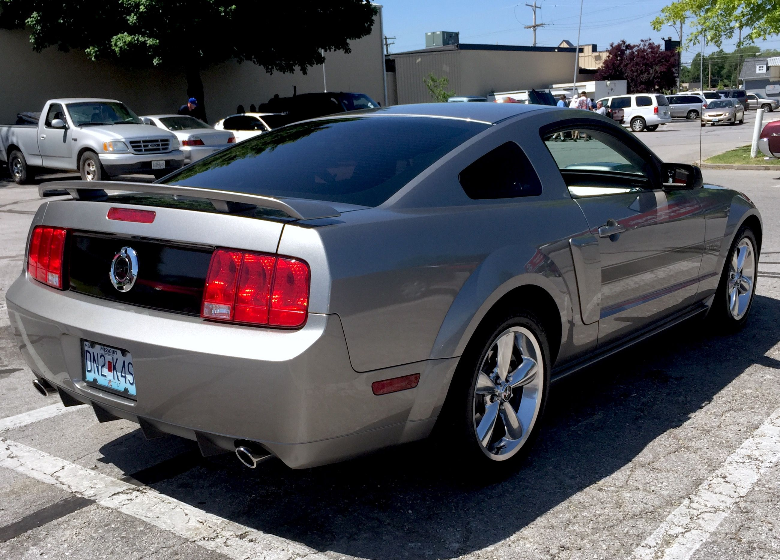2009 Ford Mustang Gt Cs California Special Vapor Metallic