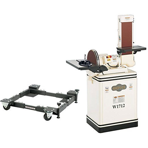 Shop fox w1712 15 hp 612 inch combo discbelt sander with d2260a shop fox w1712 15 hp 612 inch combo discbelt sander with d2260a mobile base table saw accessories table saw dado blade ryobi 10 inch table saw ryobi keyboard keysfo Gallery