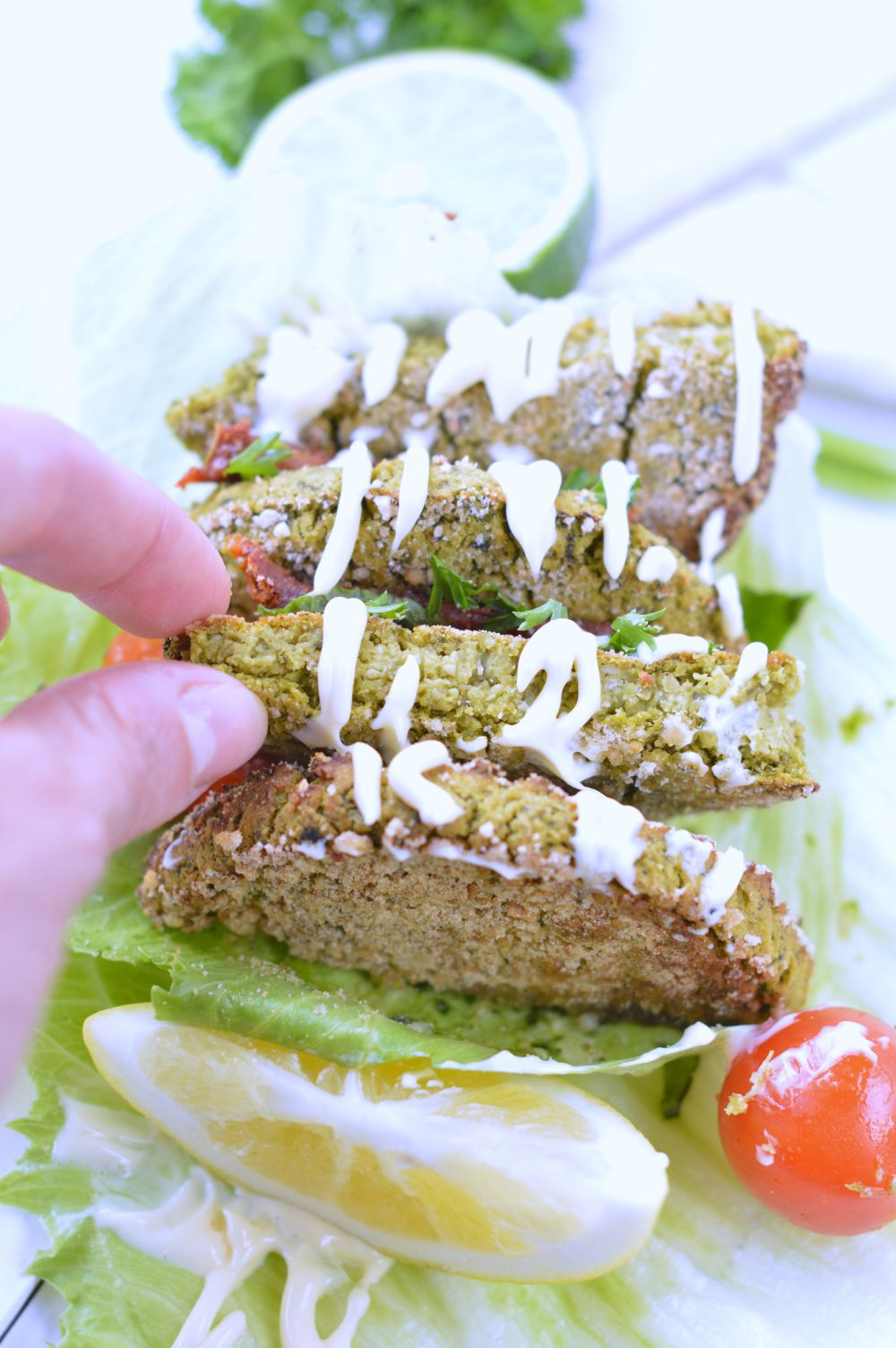 Easy falafel recipe with spinach vegan low carb recipe easy falafel recipe with spinach vegan low carb forumfinder Images