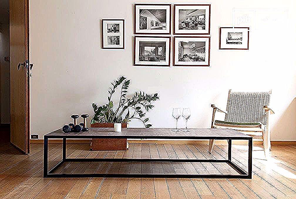 Grande Table Basse En Cuir Rothmann Et Autres Tables Basses A Decouvrir Chez Pib Specialiste Du Meuble Luminaire Et Deco Styl Table Design Table Gallery Wall