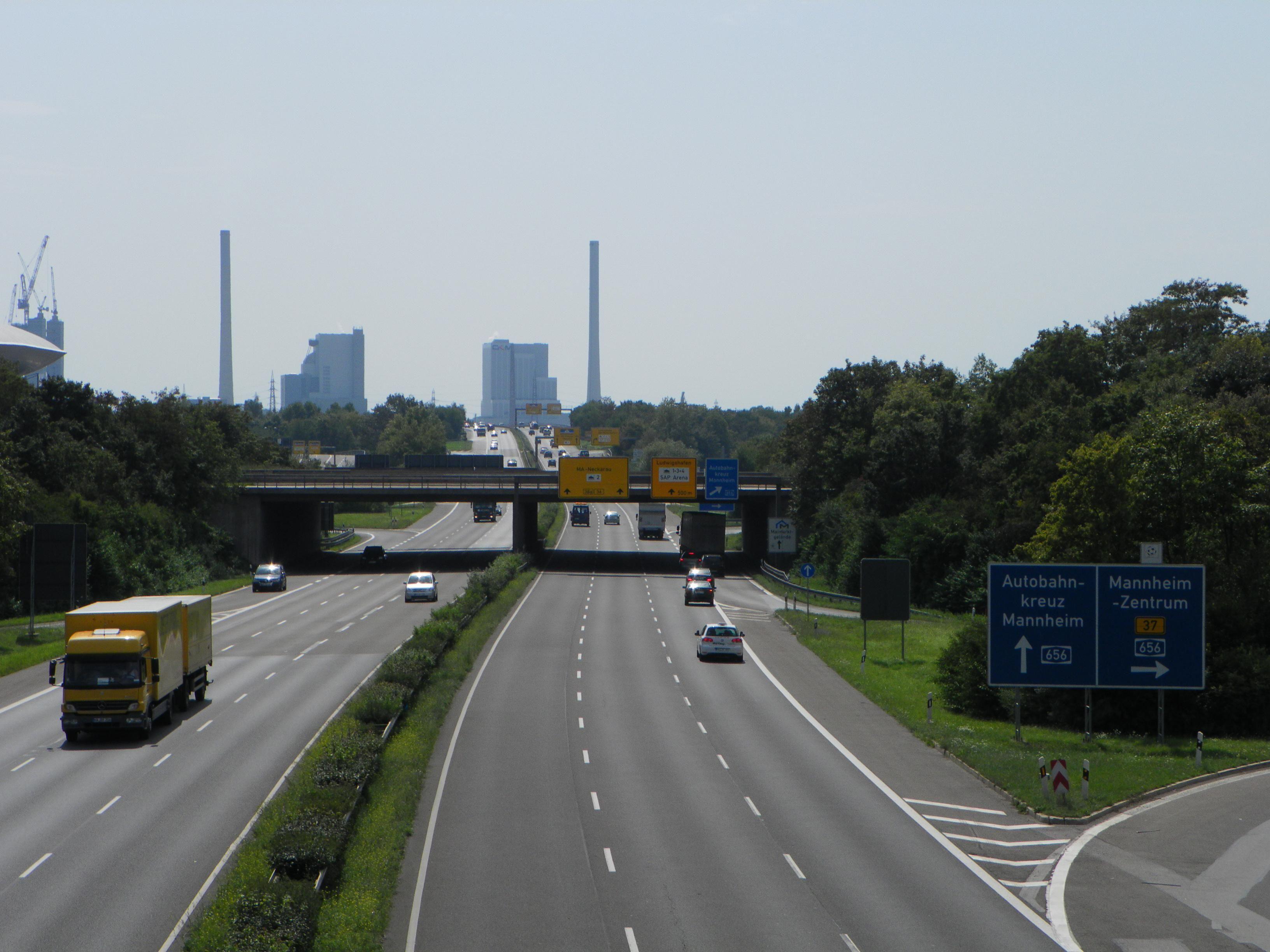 B38, Grosskraftwerk Mannheim