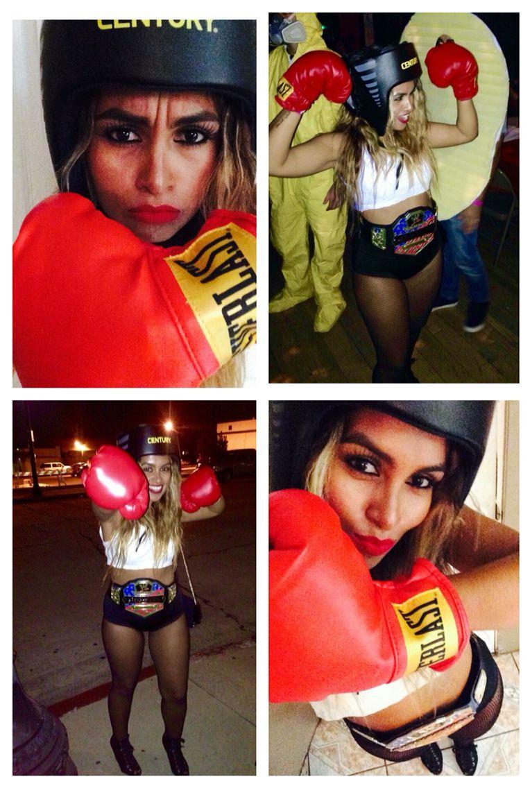 boxing girl halloween costume diy boxer boxing halloween costume women