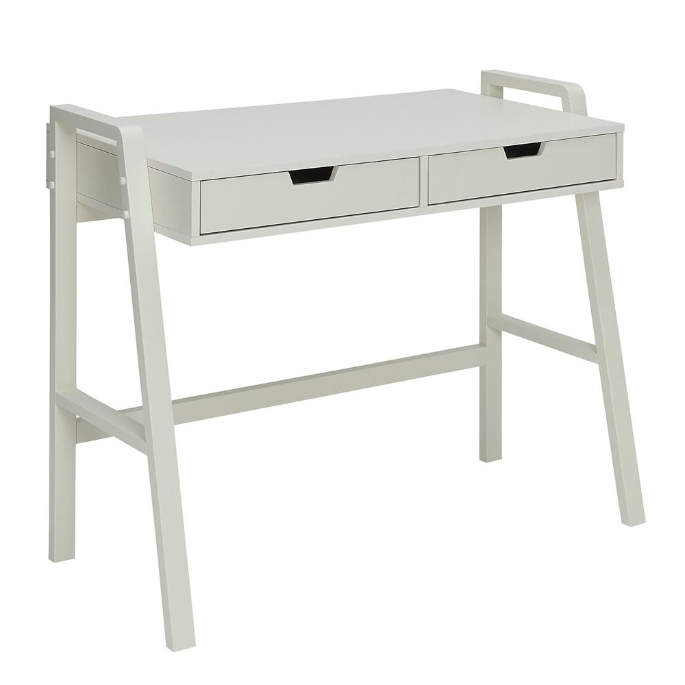 Usl Charles Polar White Small Office Desk Sk19185ar1 Pw Office