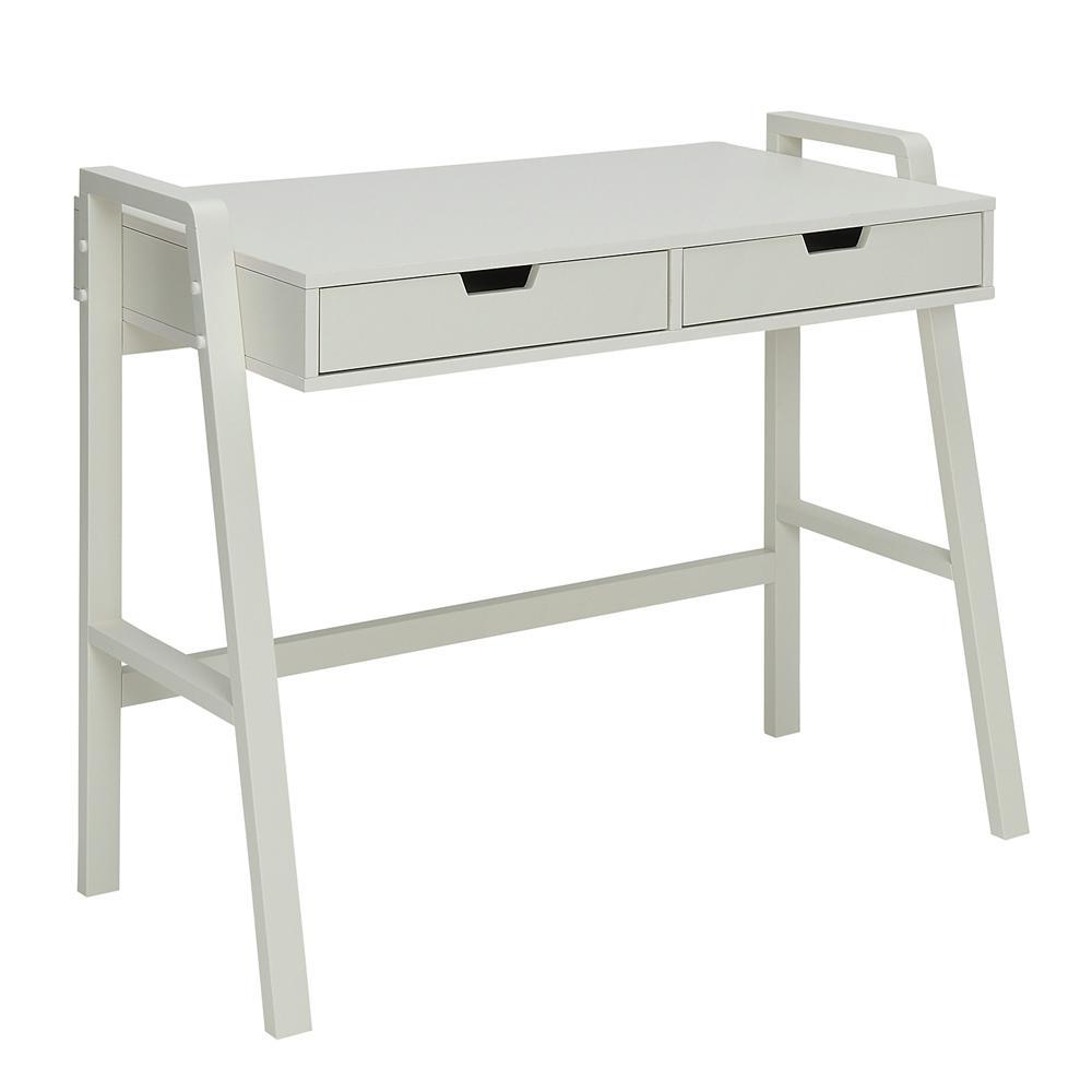 Usl Charles Polar White Small Office Desk Sk19185ar1 Pw Office