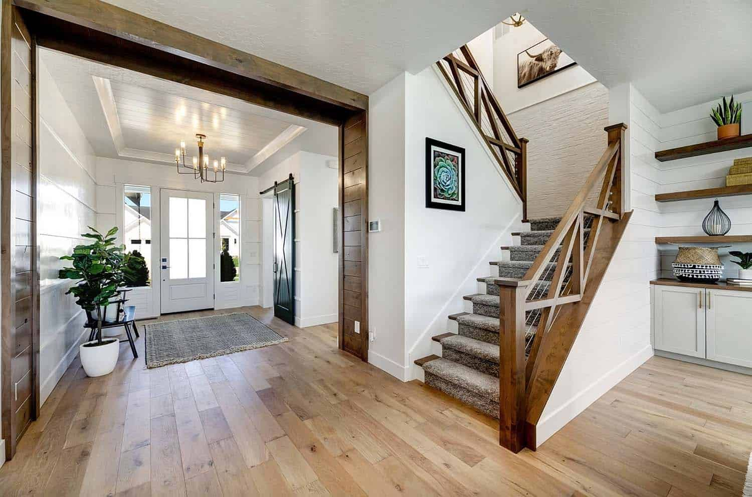 Best This Stunning Modern Farmhouse In Idaho Will Take Your 400 x 300