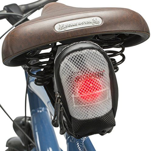 Saddle Bag W Led Works Best For Road Bike And Mtb Rear Tail