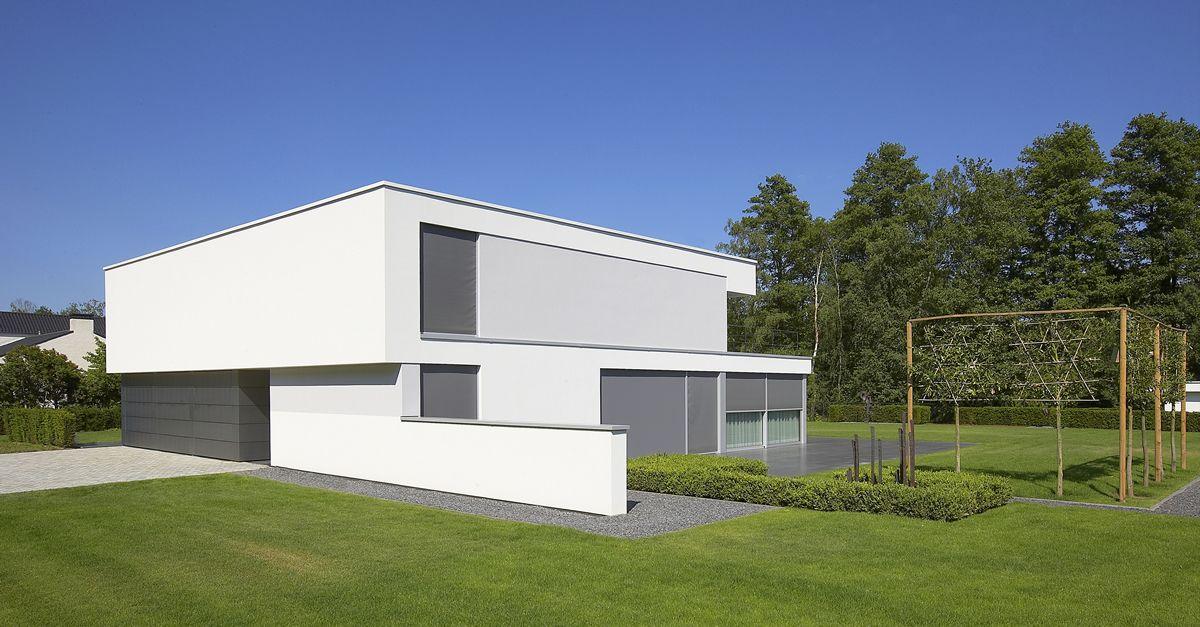 Lab architecten moderne eigentijdse architectuur villa