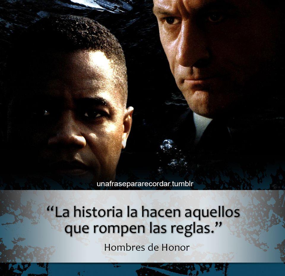 hombres de honor citas