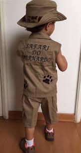 d96c6ca483b3ab Resultado de imagem para roupa safari criança | FESTA SAFARI MENINOS ...