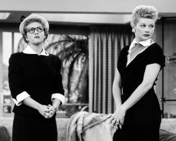 i love lucy pictures | Doris (E) e Lucille Ball em 'I Love Lucy'