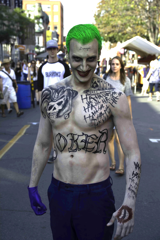 Suicide Squad Leto Joker 16 Temporary Tattoos FULL KIT Halloween Cosplay Comicon