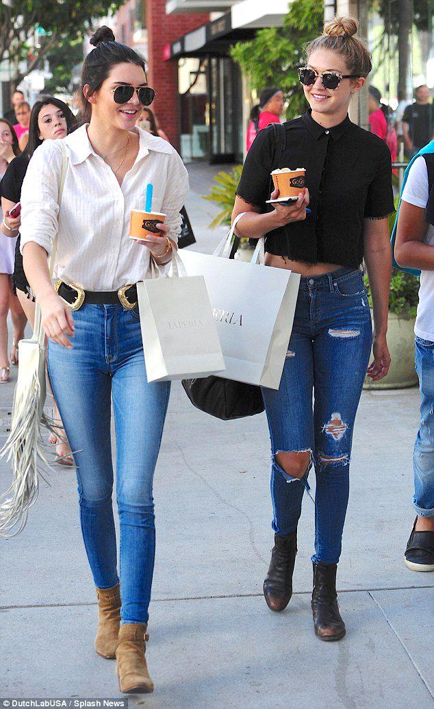 Spotted Hadid 10OysterBlack Gigi Cl 24k Kendall Jenner m8wvnOPyN0