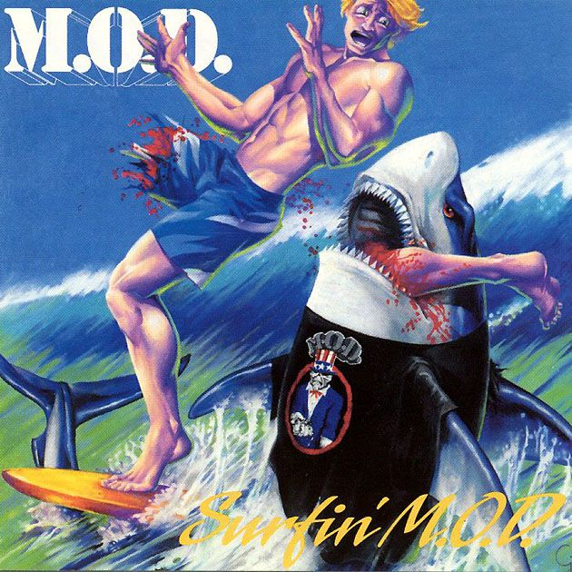 Hell yeah,Metal album covers featuring sharks