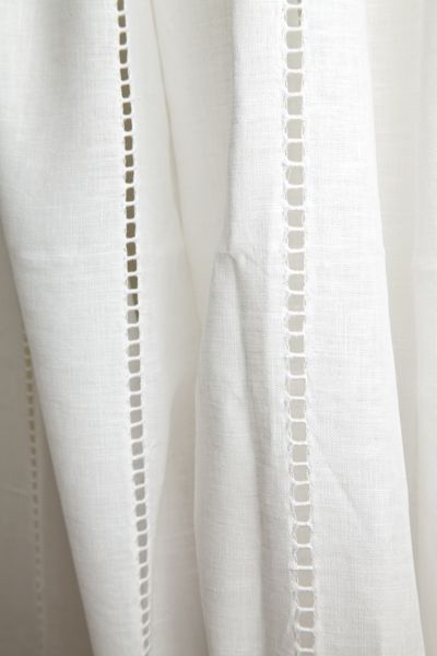 Linen curtains.  Repinned by www.mygrowingtraditions.com