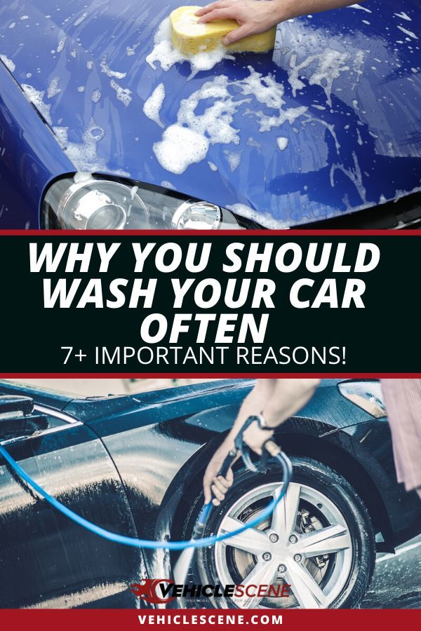 How often should you wash your car? And why is it so important to wash it that often? There's a thin line between doing it just often enough, and overdoing it and damaging your car exterior in the process! Read this car cleaning guide to find out exactly why it's super important to give it a clean often, how often you should wash your ride's exterior and interior, and tips on how you can know it's time for a shower. #carmaintenance #cartips #autodetailing #vehiclecare #carexterior #carinterior