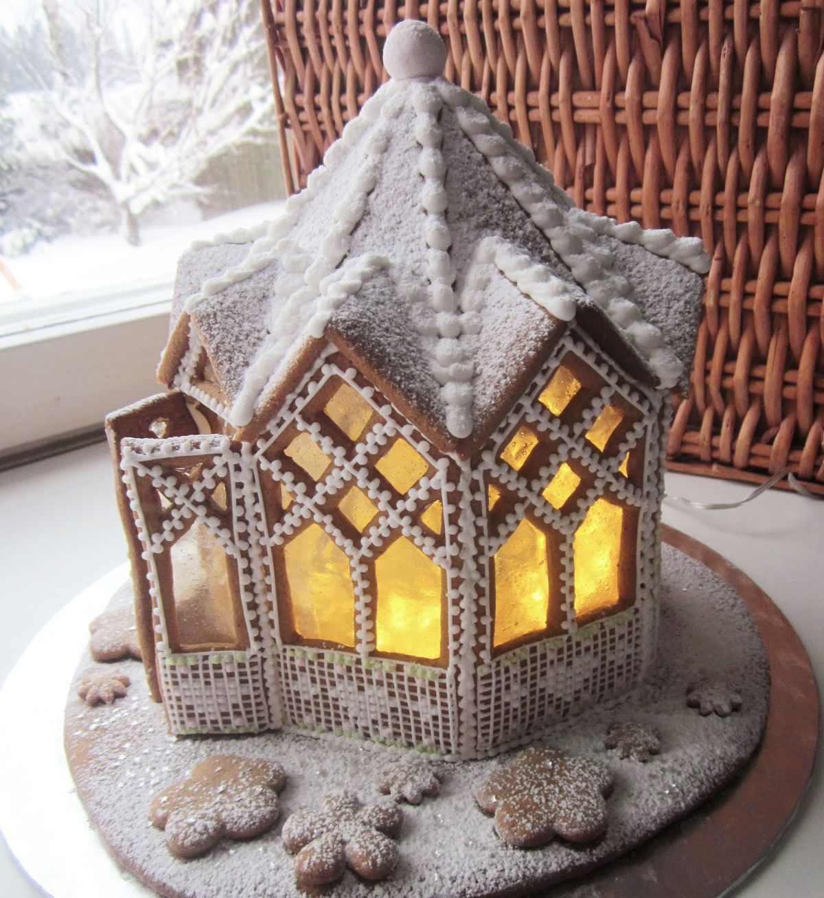 Epingle Sur Christmas Cake