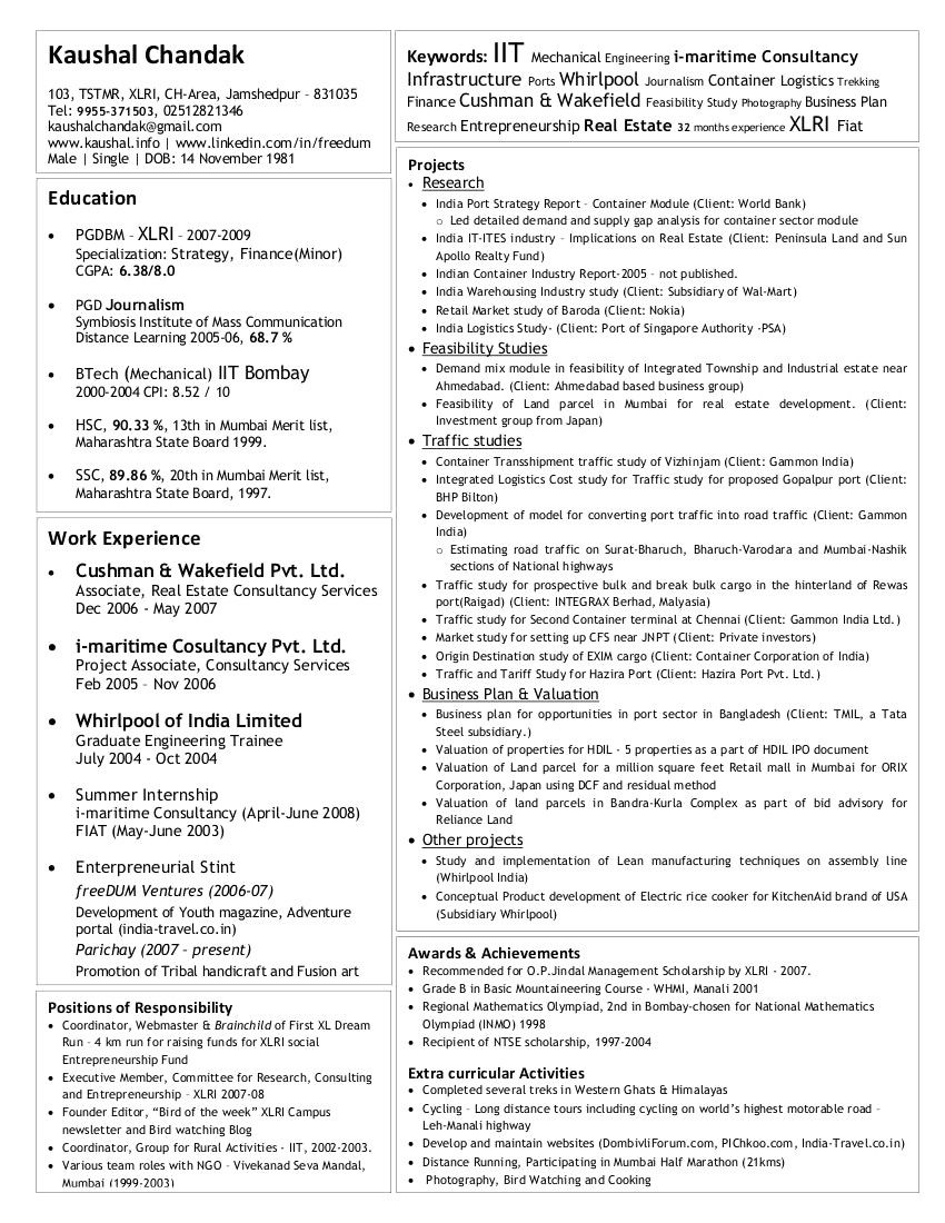 B Tech Eee Fresher Resume Sample 2 Resume Interactive Messages