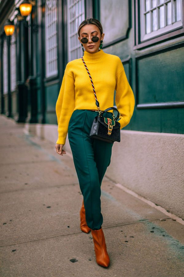 Photo of How to get CHIC using colored pieces »STEAL THE LOOK