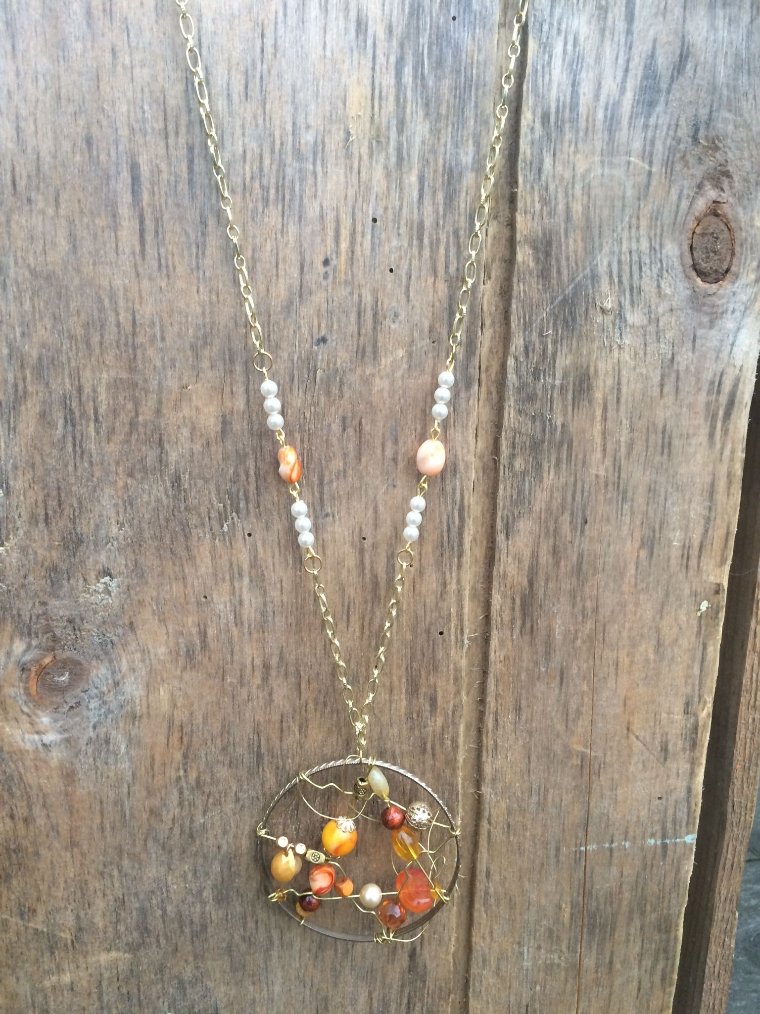Handmade dreamcatcher necklace $68 at https://www.etsy.com/ca/shop/Relovedco