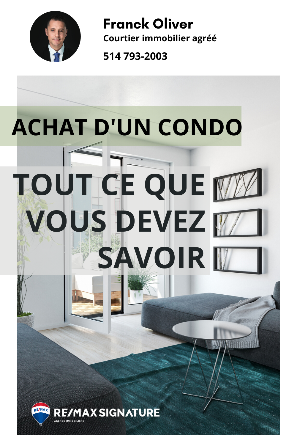 Pin On Franck Oliver Courtier Immobilier