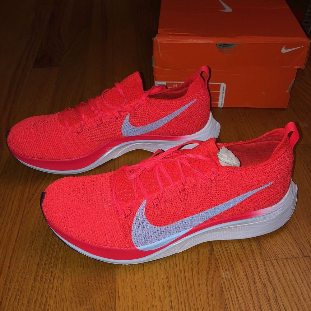 4610b48cf8a5 eBay  Sponsored Nike - Zoom Vaporfly 4% Racing and Running Shoe - Bright  Crimson - Size 11 M