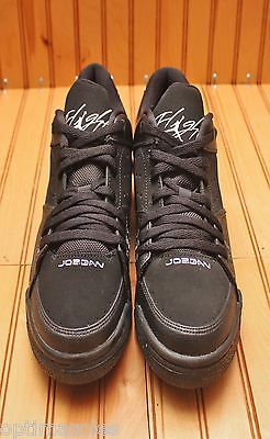 65fd6953cbeca3 Nike Air Jordan SC-1 Flight Low Size 5Y - Black White - 599930 010 ...