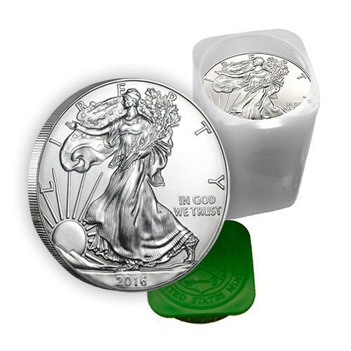 1 Oz Silver American Eagle Coins Bu Lot Roll Tube Of 20 Ad Eagle Coin Silver Coins American Eagle