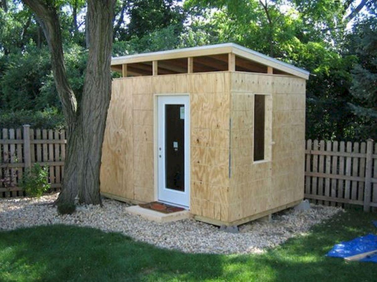 Cool diy backyard studio shed remodel design decor ideas