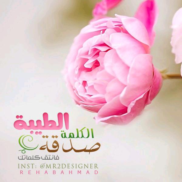 الكلمة الطيبة صدقة فأنتقي كلماتك Floral Floral Rings Rose