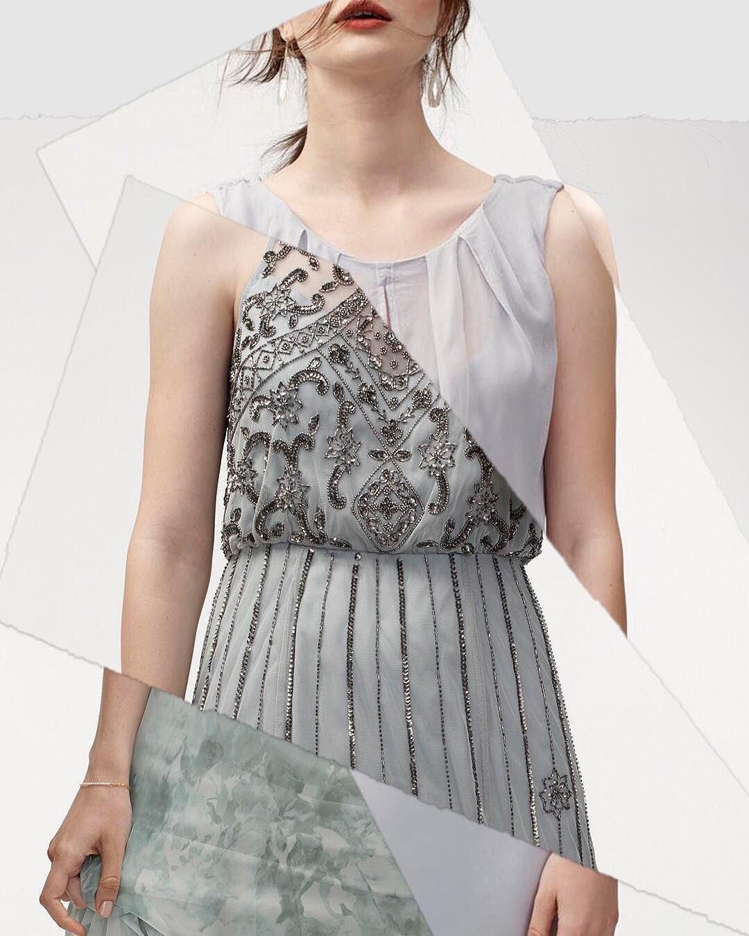 We canut lieu weure obsessed with these misty blue hues link in