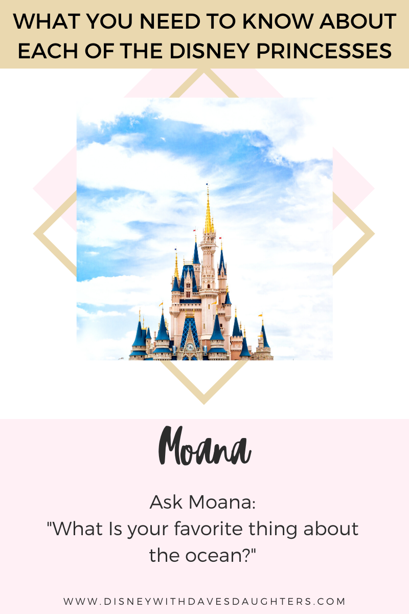 Disney Princesses - All their names, what to ask them when ...