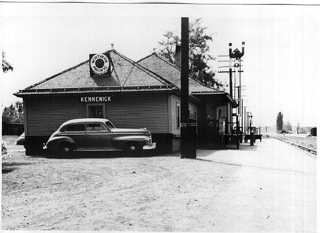 Northern pacific train depot kennewick wa tri cities wa for Home depot richland wa