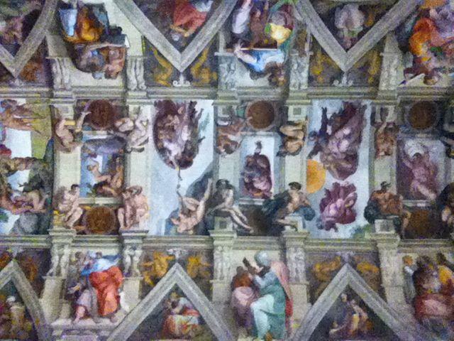 Sistine Chapel, Vatican.