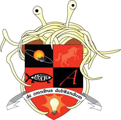 Flying Spaghetti Monster Coa By Libby Girl Fsm Flying Spaghetti